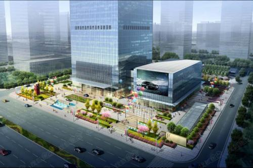xi安国瑞jin融中心